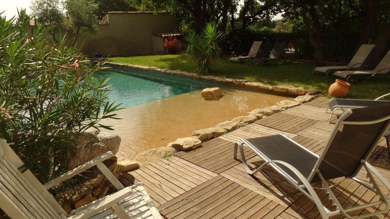 Offres locations vacances lub ron beau mas mitoyen avec - Location maison avec piscine luberon ...